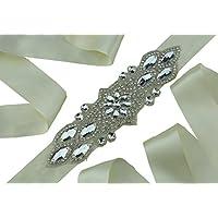 queendream abiti da perline accessori Jeweled nastro fascia con perle