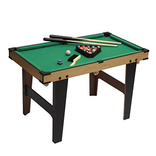 ANNA-Geschenk Klappbar 80 * 45 * 60 cm Billiardtisch Pooltisch Snooker Tischspiel Das Mini-Billiard Besteht aus Dem Billiard Cue, Dem Billiard Ball, der Kreide, Dem Pinsel und Triangle