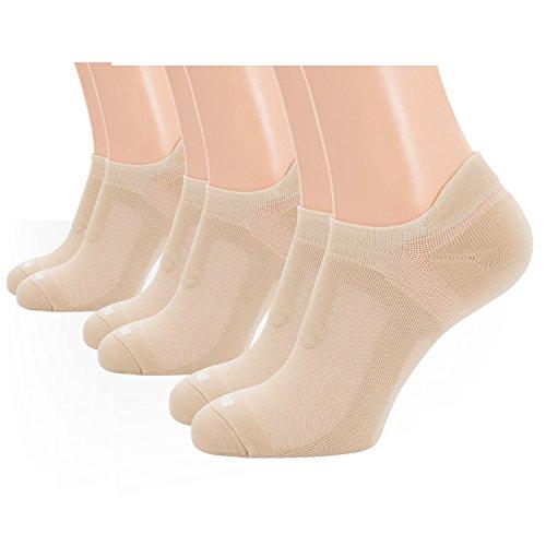 Tan Herren-socken (m-tac Running Socken No Show Low Cut Herren Sport Athletic Kissen-3Paar Pack, Herren, Coyote Tan 3 Pairs, Small)