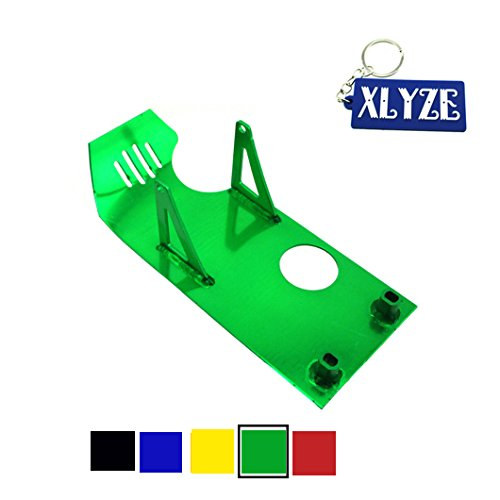 XLYZE Green Engine Protect Guard Cover Skid Plate for Honda