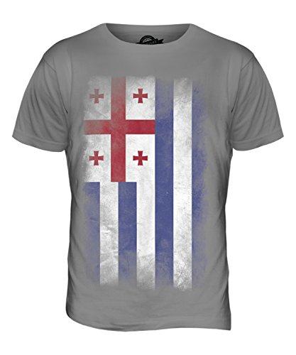 CandyMix Adscharien Verblichen Flagge Herren T Shirt Hellgrau