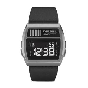 Diesel DZ7203 - Reloj digital de cuarzo para hombre con correa de acero inoxidable, color negro de Diesel