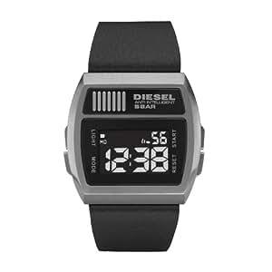 Diesel Men's Digital Watch Dz7203 With Black Leather Strap