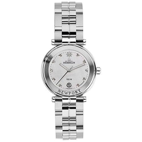 Michel Herbelin Newport Women's Watch Silver/Pearl 14285/B89