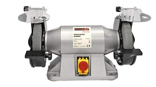 Amoladora esmeriladora doble de banco profesional w 900mm 200rpm 2950
