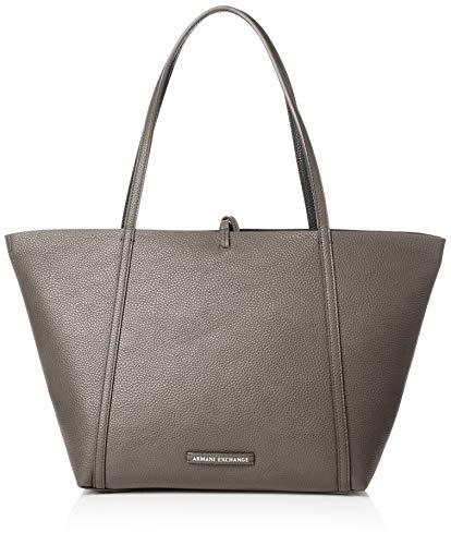 ARMANI EXCHANGE Tote Bag - Borse Donna, Marrone (Taupe/Nero), 29x13x44 cm (B x H T)