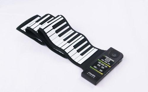 EXPRESS PANDA PIANO TECLADO SILICONA FLEXIBLE ROLL PIANO CON ALTAVOZ Y PIE PEDAL(88 KEY)