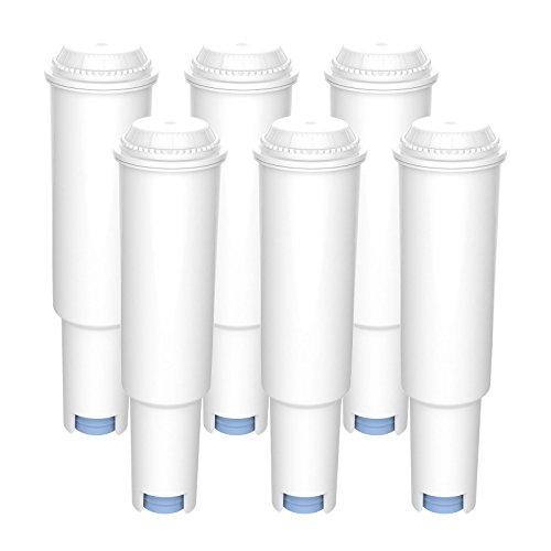 AquaCrest AQK-04 Kompatibler Kaffeemaschinen-Wasserfilter-Ersatz für Jura Claris White - inklusive verschiedener Modelle von Nespresso, Capresso, Impressa, Avantgarde (6)