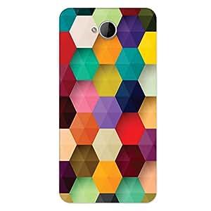 GripIt 3D Hexagon Case for Microsoft Lumia 650 Dual Sim
