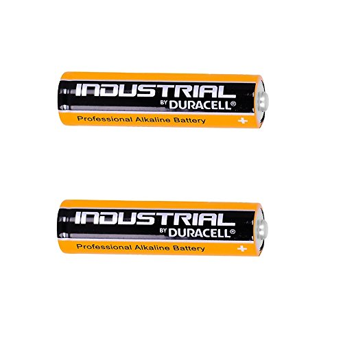 2 x New Genuine Duracell Industrial AA Piles Alcalines 1,5 V Lr6 Mn1500 Lot de 2 Remplace Procell pile AA