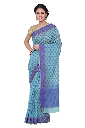 Banarasi Lavender Cotton Silk Saree