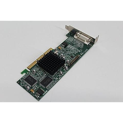 Matrox G45FMLDVA32DB Millenium G450 32MB AGP DVI scheda video Low Profile Z083 Bulk
