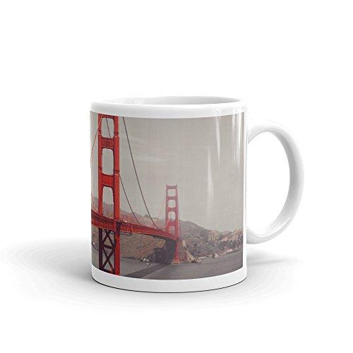 DV Mugs Ltd Golden Gate Bridge Tasse-Travel Geschenk USA Amerika San Francisco Attraction # 8206 -