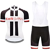 logas Mens Black White Team Cycling Jersey Short Sleeve Pro Bike Bicycle  Jersey   Cycling 7afa80001