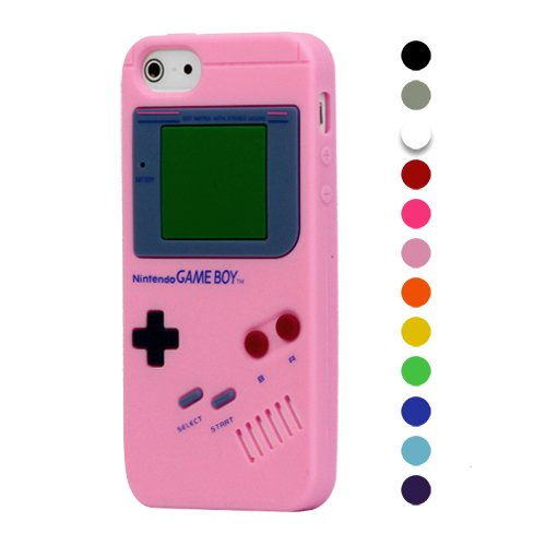 Light Pink Gameboy Case for Apple iPhone 5/5G/5S