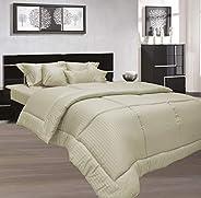 Stone Double Size 220 x 240 cm Hotel Linen Bedding Set - 3 Pieces