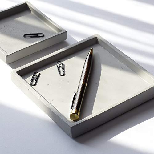 Beton Grau Quadratische Platte (Papier Dekorative Platten)