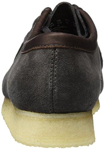 Clarks Originals Wallabee, Chaussures Pour Hommes Basse Brogue Man Black (charcoal Suede)