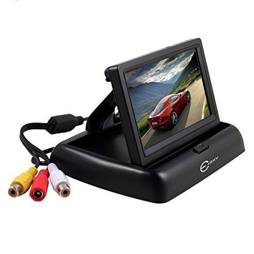 esky-foldable-43-inch-anti-glare-color-lcd-tft-rear-view-monitor-screen