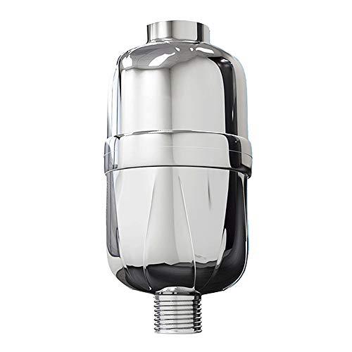 HOUMU Duschhaut 8-Lagen-Filter Mehrstufiger Duschfilter zum Entfernen von Chlor- und Wasserverunreinigungen, Enthärtung von hartem Wasser, einfach für jeden Duschkopf zu installieren (Arsen-filter Entfernen)