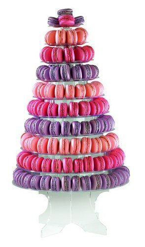 Stand for Macaroons 10?Adjustable Shelves by MALLARD FERRIERE