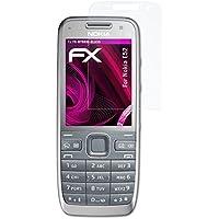 atFoliX Lámina Protectora de Cristal Nokia E52 Película Vidrio - FX-Hybrid-Glass