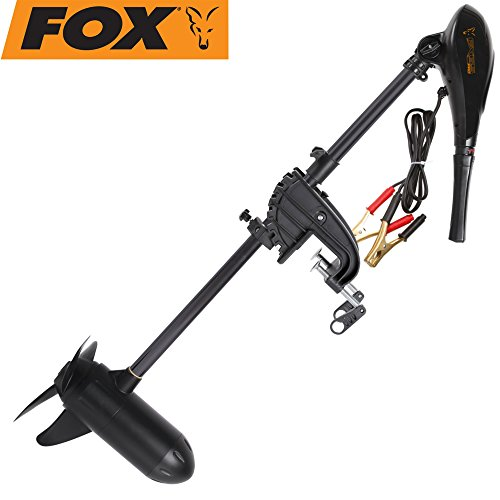 Fox FX65 Pro 3 Blade Prop - E-Motor für Schlauchboot, Elektrischer Motor für Angelboot, Bootsmotor für Karpfenboot