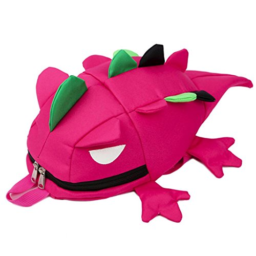 Imagen de smartlady bolsa escuela bolso escolar lagarto dibujos animados infantil viaje  para guardería primaria niño niña rosa  alternativa