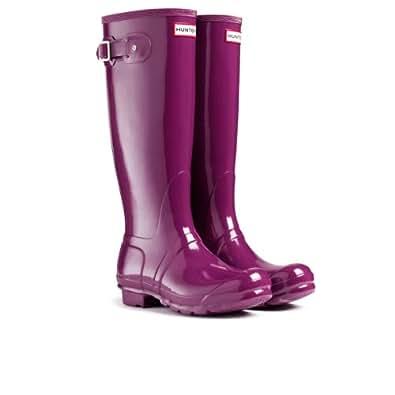 Hunter Women's Boots. red Size: 9 UK Men
