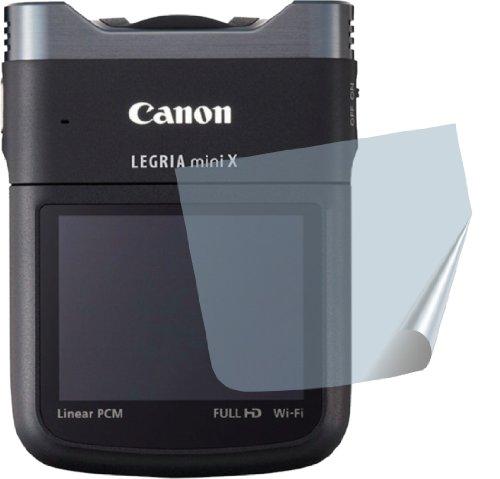 2x ANTIREFLEX matt Schutzfolie für Canon Legria Mini X Premium Displayschutzfolie Bildschirmschutzfolie Schutzhülle Displayschutz Displayfolie Folie