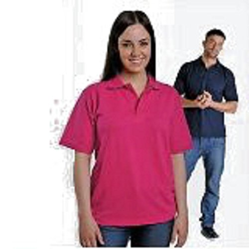 Harrogate Chef Shop Klassisches Poloshirt Gesundheit vet Kinderzimmer Krankenschwester von Cook Beauty Rosa - Hot Pink