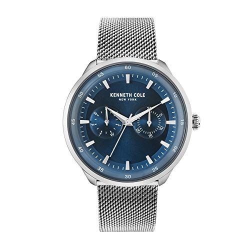 Kenneth Cole New York Reloj de Hombre Reloj de Pulsera Acero Inoxidable kc50577003