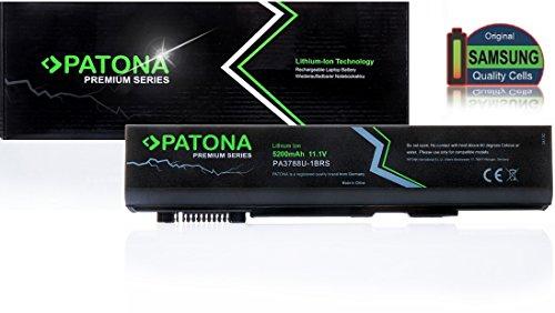 PATONA Batterie Premium (5200mAh) pour Ordinateur Portable Compatible avec Toshiba PA3788 | PA3788U1BRS | PA3788U-1BRS | PABAS223