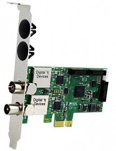 Digital Devices Cine C/C2/T/T2 V7, Dual DVB-C/C2/DVB-T/T2 PCIe