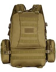 Genda 2Archer Protector Plus Deportes al Aire Libre Militar Mochilas Asalto Tactico Mochila de Excursion que Acampa Trekking Bolsa