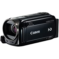 Canon Legria HF R56 High Definition Camcorder - Black (3.2MP, 32x Optical Zoon, 57x Advanced Zoom, Wi-Fi) 3inch LCD