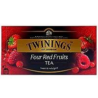 Twinings Four Red Fruits Tea (International Blend) - 25 Envelopes