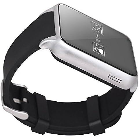 GT88 impermeable NFC Bluetooth inteligente del reloj del reloj del teléfono del compañero para iOS