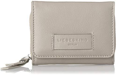 Liebeskind Berlin Damen Essential Pablita Wallet Medium Geldbörse, Grau (String Grey), 2x9x11 ()