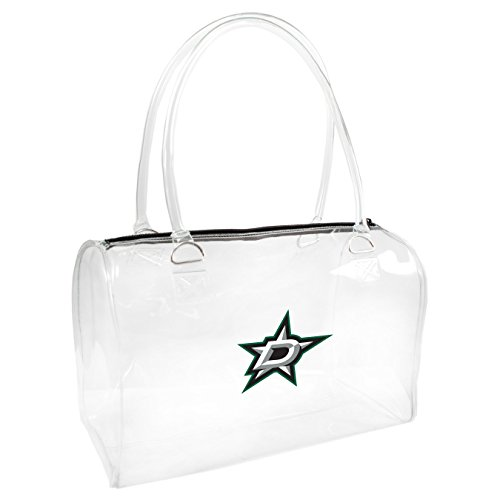 Littlearth NHL Dallas Stars Damen Bowler Handtasche, One size, transparent