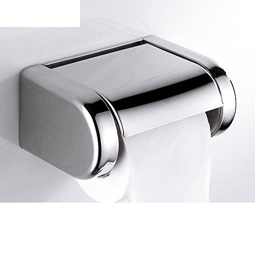Bad Kleenexbox/WC Fach/Geschlossene Edelstahl Toilettenpapierhalter und wasserdicht und lange Paper Plane/[Lange wasserdicht Rollenhalter]-C