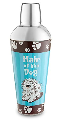Epic Products Hair of The Dog Shaker aus Glas, 24 cm, 53,3 g Barware Dekor