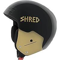 Shred Mujer basher Ultimate LG Casco de esquí, Otoño-invierno, mujer, color negro, tamaño medium