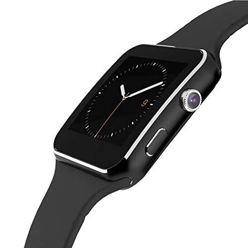 YENJOS Smartwatch, Multi-Language Pulsmesser GPS Kamera Watch Fitness Tracker Sport Watch Armband Männer Frauen Schrittzähler Smartpho Running GPS-Geräte für Android