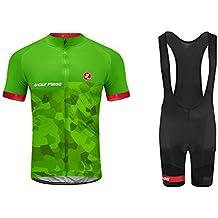 Uglyfrog 2018-2019 Bike Wear - Pantalón Corto para Hombre Bib Shorts  Sets+Maillots def61df3938ac