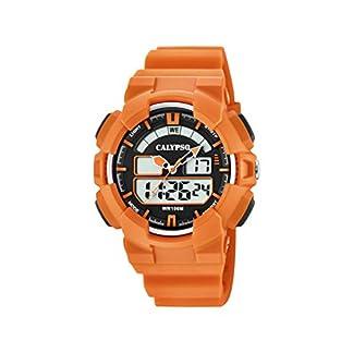 Calypso Reloj Analógico para Mujer de Cuarzo con Correa en Plástico 8430622713811