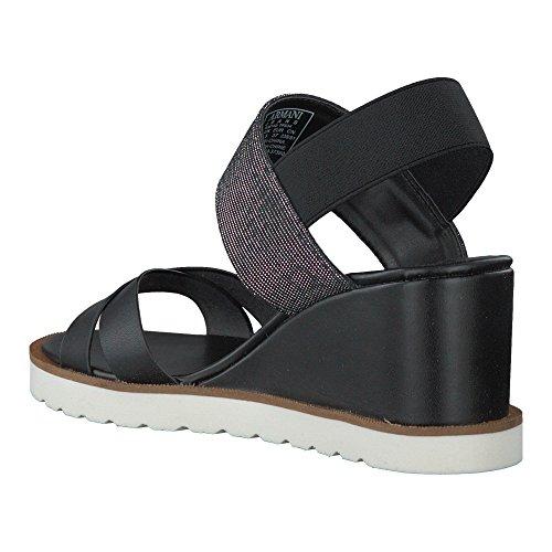 AJ Armani Jeans 925140 Zeppa Donna Nero