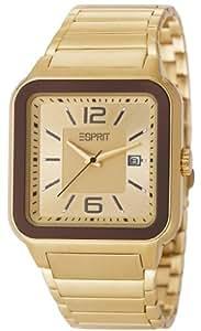Esprit Herren-Armbanduhr Ventura Gold Analog Quarz Edelstahl ES105841004