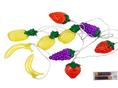 Preis am Stiel® Lichterkette, Früchte, mit 10 warmweißen LED
