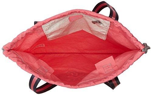 Kipling Damen New Hiphurray Tote, 4x44.5x1 cm Pink (City Pink)